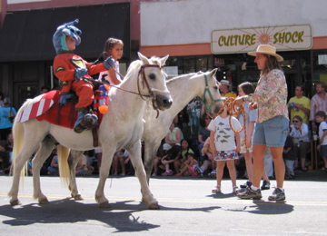 4H Horses in Parade